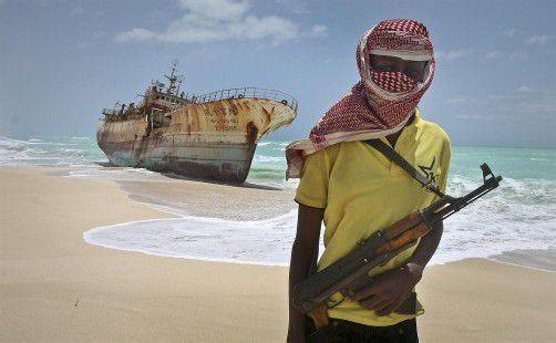 Somalische Piraten halten derzeit elf Schiffe mit insgesamt 167 Besatzungsmitgliedern fest. Foto: REUTERS