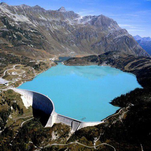 Speichert unter anderem die überschüssig produzierte Energie in Deutschland: Der Kopssee. Foto: Illwerke Vkw