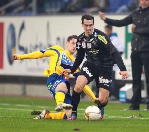 Spielte in St. Pölten trotz Verletzung: Aaron Kircher. Foto: Diener