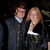 Stadtrat Gerhard Schwärzler mit Barbara.
