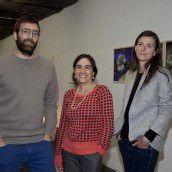 Künstlertrio macht in Galerie Furore