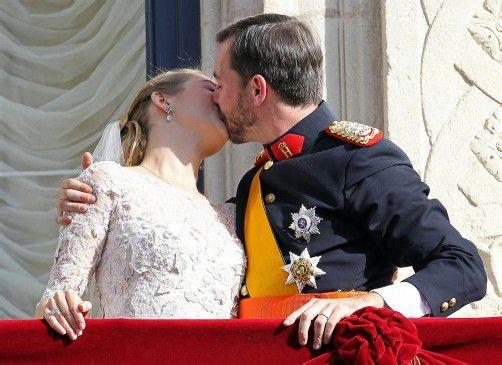 """Stéphanie und Prinz Guillaume haben am Wochenende """"Jo!"""" gesagt."""