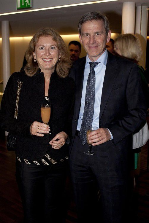 Steuerberater Nikolaus Schrottenbaum mit Isolde.