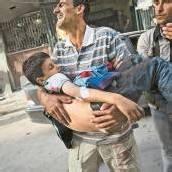 Alltägliches Leid im syrischen Aleppo