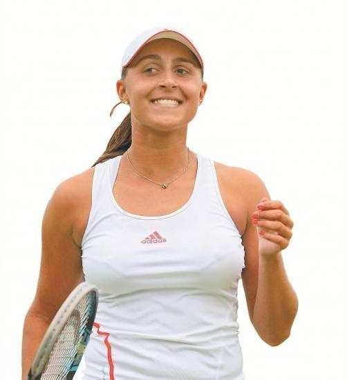 Tamira Paszek darf sich über ihr Karrierehoch im WTA-Ranking freuen. Foto: EPA
