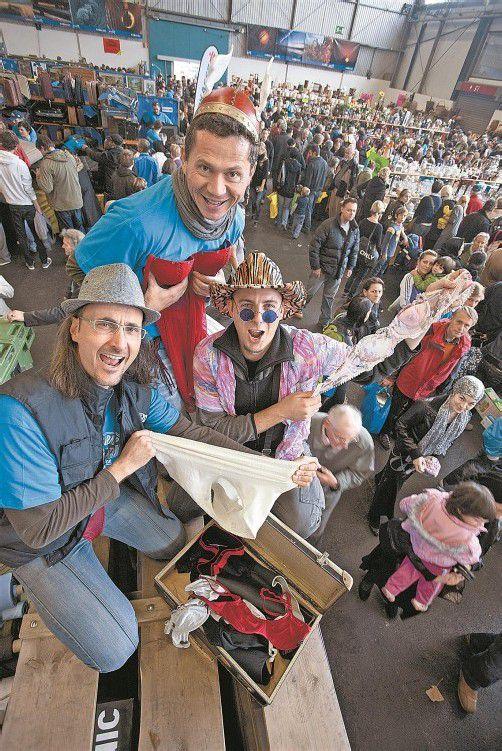 Tausende werden jedes Jahr vom Flohmarktfieber gepackt. Foto: VN/Hartinger