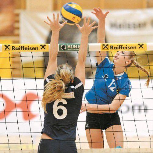 Theresa Sindler und ihre Mitspielerinnen meisterten die erste Runde im ÖVV-Cup in souveräner Manier. Foto:vn/Lerch