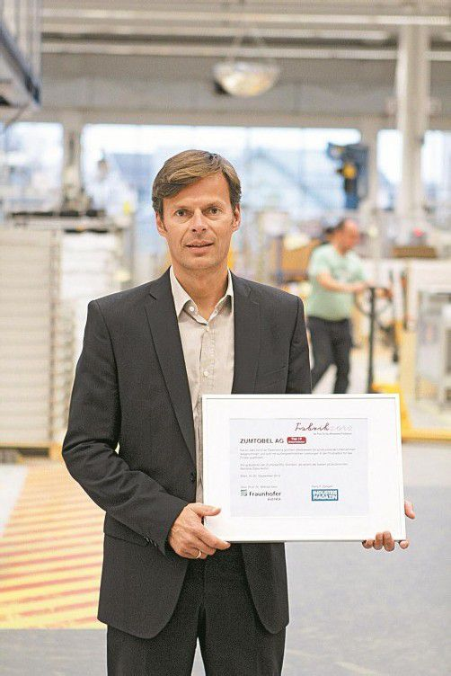 Thomas Bischof, Direktor Zumtobel Werk Dornbirn. Foto: zumtobel