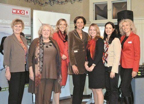 """Unter dem Motto """"Frauensache"""" stand die erste von insgesamt vier Veranstaltungen im Rahmen der Gründertage 2012. Foto: WKV"""