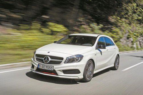 Unter den 2012er-Mercedes-Modellen war die neue A-Klasse vom Start weg ein Star. Fotos: werk