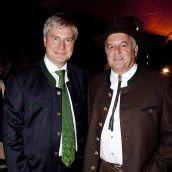 Unter den Gästen: Sepp Bayer (l.) mit Otto Vonblon. Fotos: FRANC