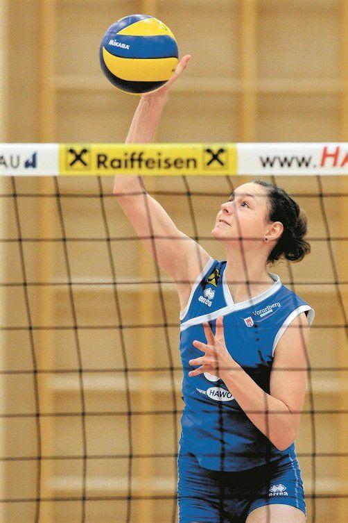 Ursula Ehrhart war in beiden Partien Topskorerin und führt mit insgesamt 71 Zählern die Punkteliste der 2. Bundesliga West an. Foto: vn/Lerch