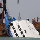 Schiffsunglück forderte 38 Tote in Hongkong