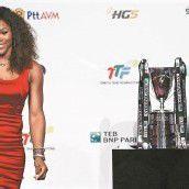 Serena Williams ist beim Finale die Favoritin