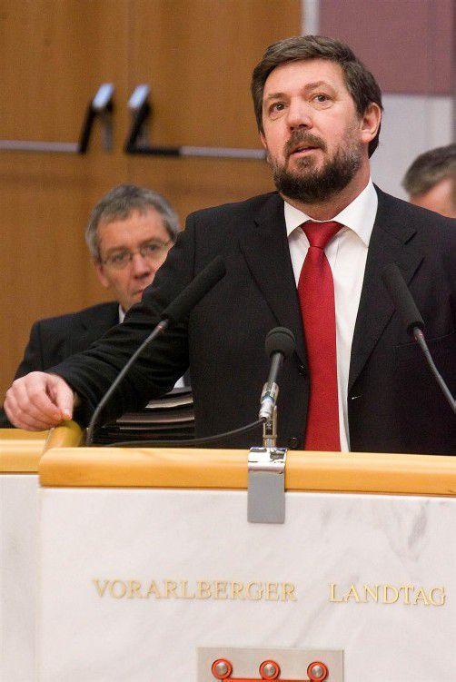 Werner Posch ist in Dornbirn Stadtrat für Integration. Foto: eh