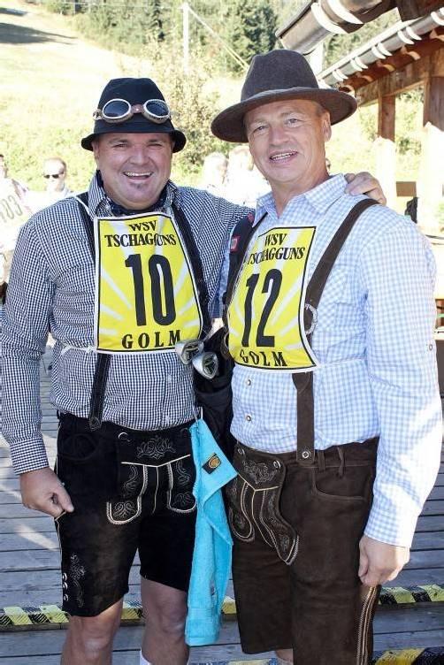 Wolfgang Mähr (l.) mit Bengt Ake Gustafsson. Fotos: FRANC