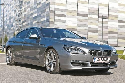 Wunderschön gezeichnetes, flaches Coupé mit vier Türen. BMW setzt mit dem 6er Gran Coupé auf Modell-Vielfalt. Fotos: vn/Hartinger