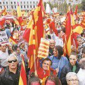 Spanier wollen Einheit bewahren