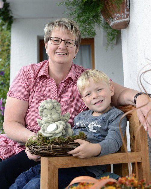 Zivilcourage Pia Schneider hat den kleinen Jakob