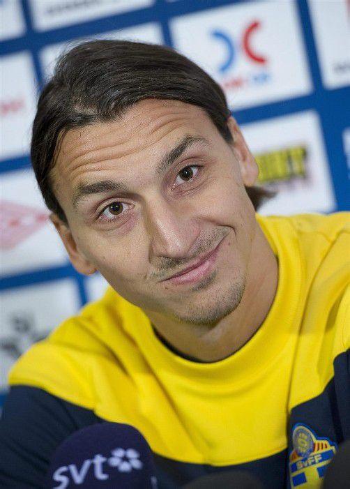 Zlatan Ibrahimovic ist immer für einen Ausraster gut. Foto: epa