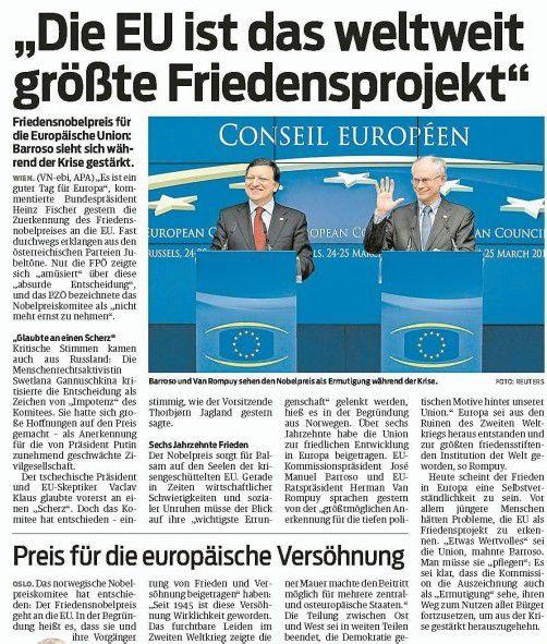 Zum VN-Bericht vom 13. Oktober 2012.