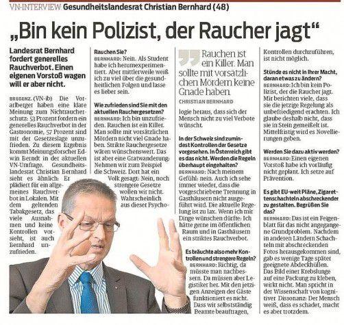 Zum VN-Bericht vom 24. Oktober 2012.