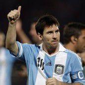 Messi auch im Team treffsicher