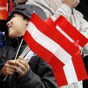 Österreich feiert seine Freiheit