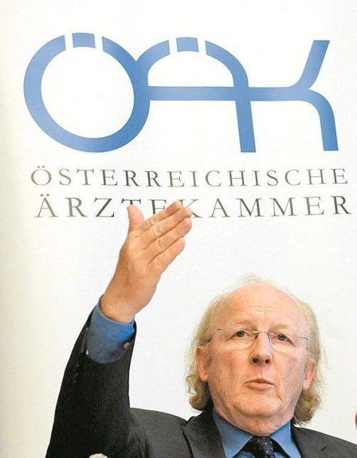 Ärztekammer-Präsident Artur Wechselberger. Foto: APA
