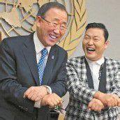 Tanzender UN-Generalsekretär