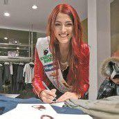 Amina startete als Miss Austria durch