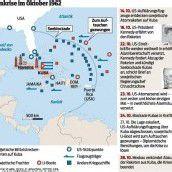 Mit der Kubakrise stand die Welt kurz vor dem Atomkrieg