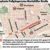 Wien: Mariahilfer Straße wird verkehrsberuhigt