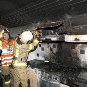 Sachschaden bei Brand in Hohenems