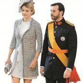 Erbgroßherzog Guillaume heiratet belgische Adlige