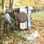 Auto stürzte in Tobel