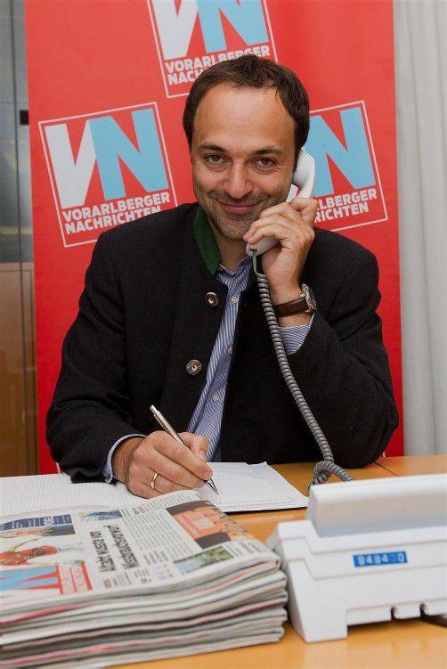 Vorarlbergs Vize-Bergrettungschef Matthias Marxgut.  VN/Steurer