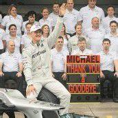 Schumacher-Abschied ohne Wehmut