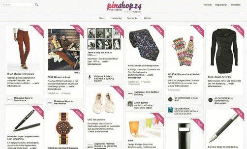 """""""pinshop24.at"""" ist Vorarlbergs größtes Schaufenster, auf dem regionale Fachhändler ihre Produkte präsentieren."""