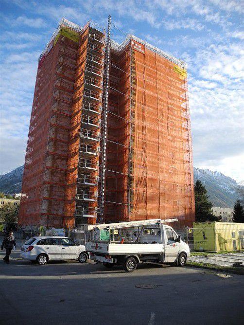 1,5 Millionen Euro werden in die Hochhaussanierung investiert.  Foto: sm