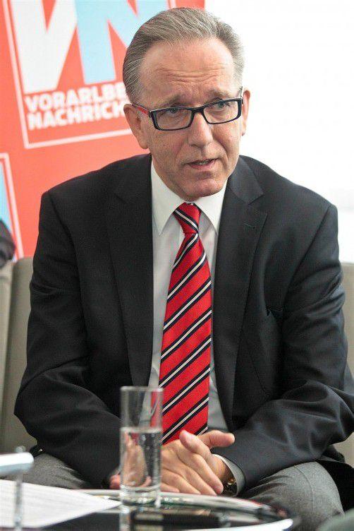 """2013 wird der Wiener Rudolf Kaske Präsident der Arbeiterkammer Österreich. Im VN-Interview sagt er: """"In anderen Ländern tragen Reiche mehr bei."""""""
