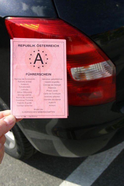 Alkofahrt nach Polizeianweisung: trotzdem Schein weg. Foto: symbolbild