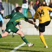 Lukas Jäger Altacher Goldtorschütze im VFV-Cup gegen seinen Ex-Verein