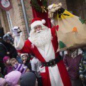 Weihnachtsmann steht in den Startlöchern