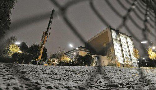 Atominstitut im Wiener Prater: Alte Brennstäbe sollen am 4. oder 5. November nach Koper (Slowenien) gebracht werden. Foto: APA