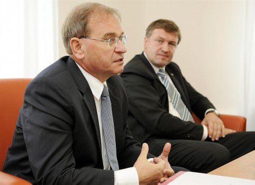 Auch gegen Alois Schedl und Klaus Schierhackl wird ermittelt.  Foto: APA