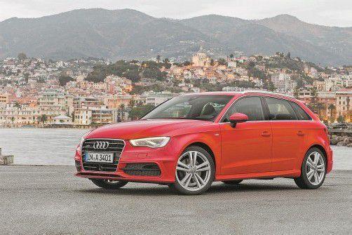 Audi A3 Sportback: Stilistische Feinarbeit am Zeitgeist-Transporter. Fotos: werk