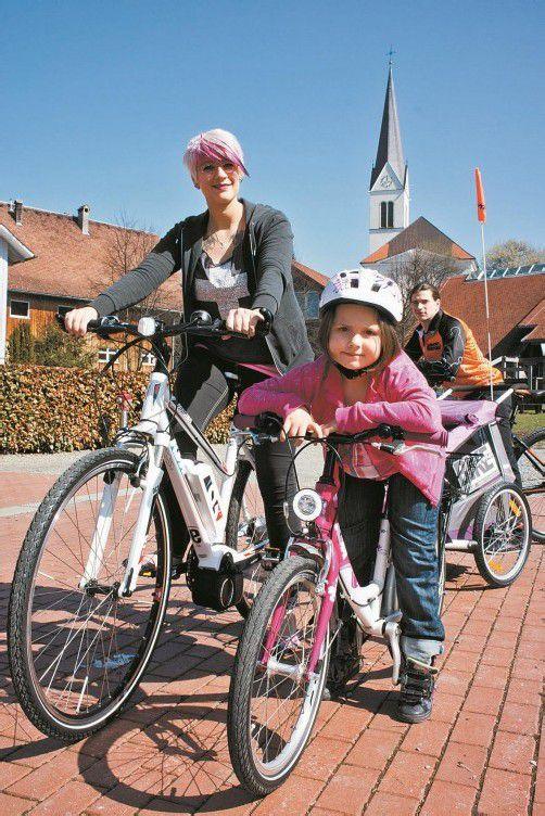 Auf die Räder, fertig, los: Beim Fahrrad-Wettbewerb machten heuer über 10.000 Vorarlberger mit. Foto: VN/Hartinger