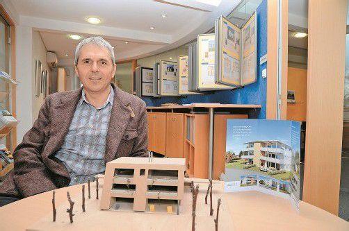 Baumeister Karl Grabher führt das Traditionsunternehmen in dritter Generation. Fotos: vn/Gasser