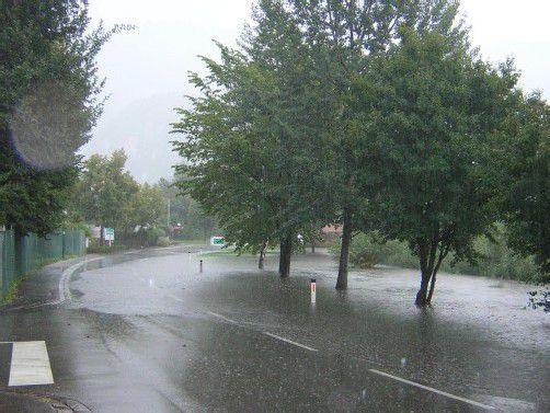 Beim Güllbach und Gostgraben kommt es bei stärkeren Regengüssen immer wieder zu Problemen. Foto: hbr